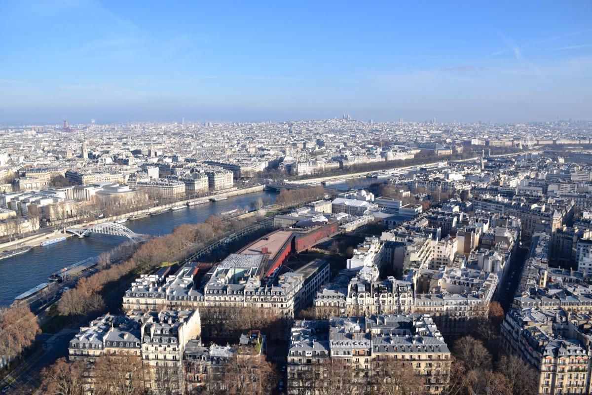 Panorama depuis la Tour Eiffel