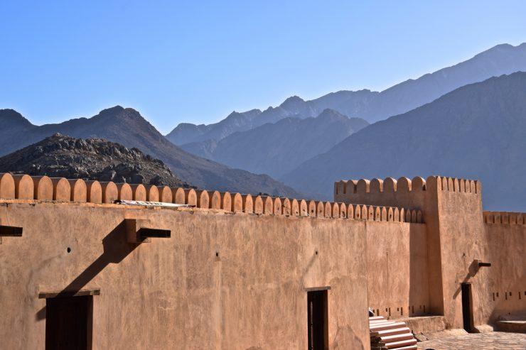 Remparts du fort de Nakhal