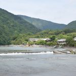 Rivière à Arashiyama