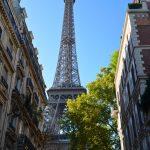 Panorama sur la Tour Eiffel depuis la rue de l'Université