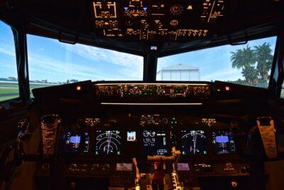 Simulateur de vol Boeing 737