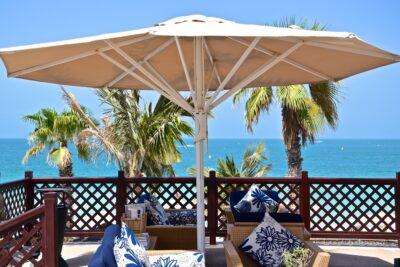 Terrasse de l'hôtel Mina A'Salam à Dubai