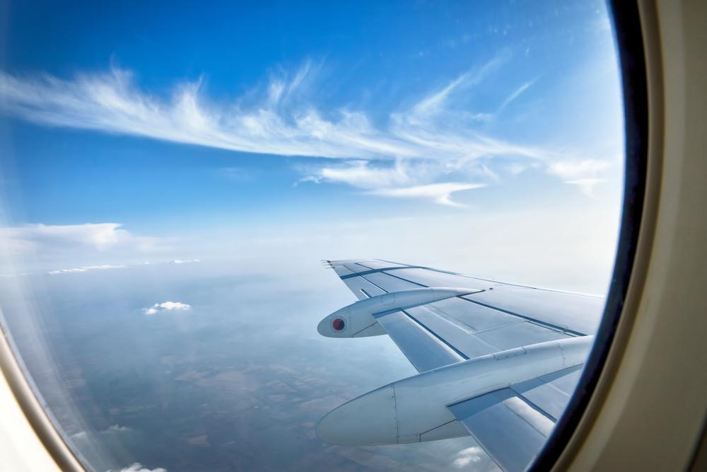 Avion en voyage