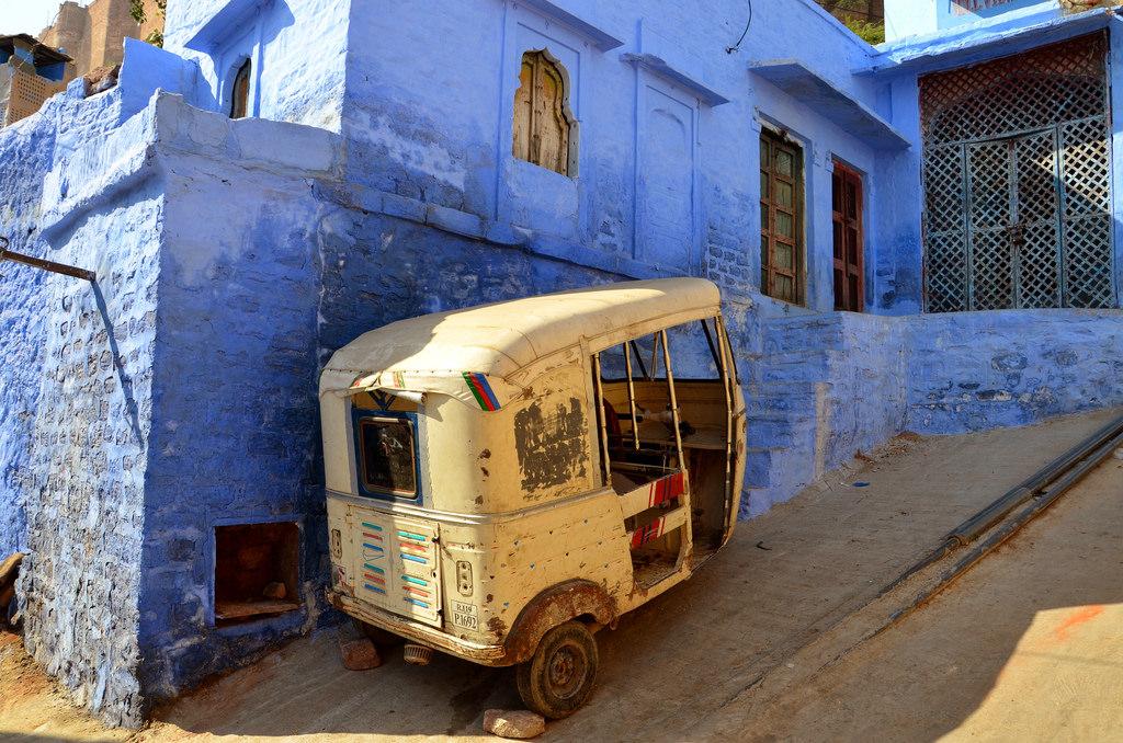 Jodhpur La Ville Bleue Du Rajasthan En Inde