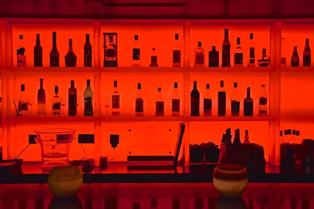 Bar de l'hôtel Félicien à Paris XVI