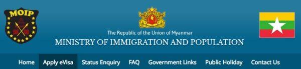 eVisa pour la Birmanie
