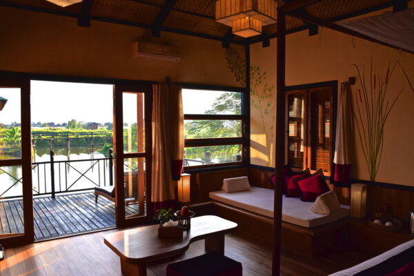 Hôtel en Birmanie - Thahara Inle Heritage