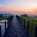 Lever de soleil au Thahara Inle Heritage