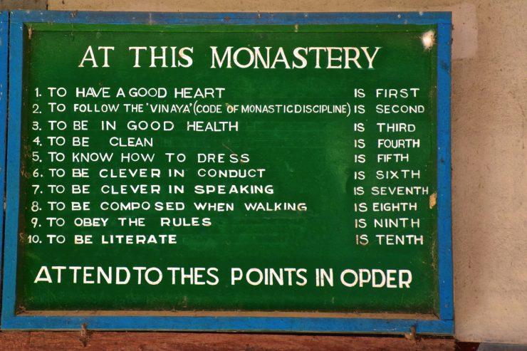Monastère Mahagandayon - Amarapura
