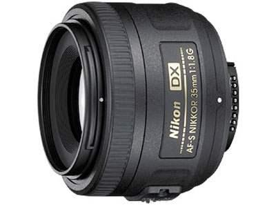 Objectif Nikon 35mm f/1.8