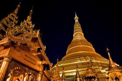 Pagode Shwedagon à Yangon