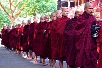 Monastère Mahagandayon - Amarapura, Mandalay