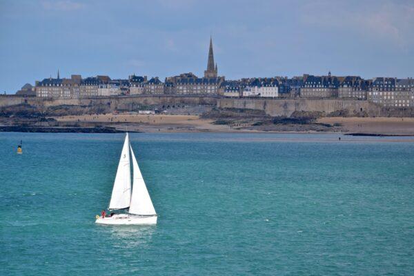 Saint-Malo depuis Dinard