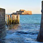 Saint-Malo à marée haute