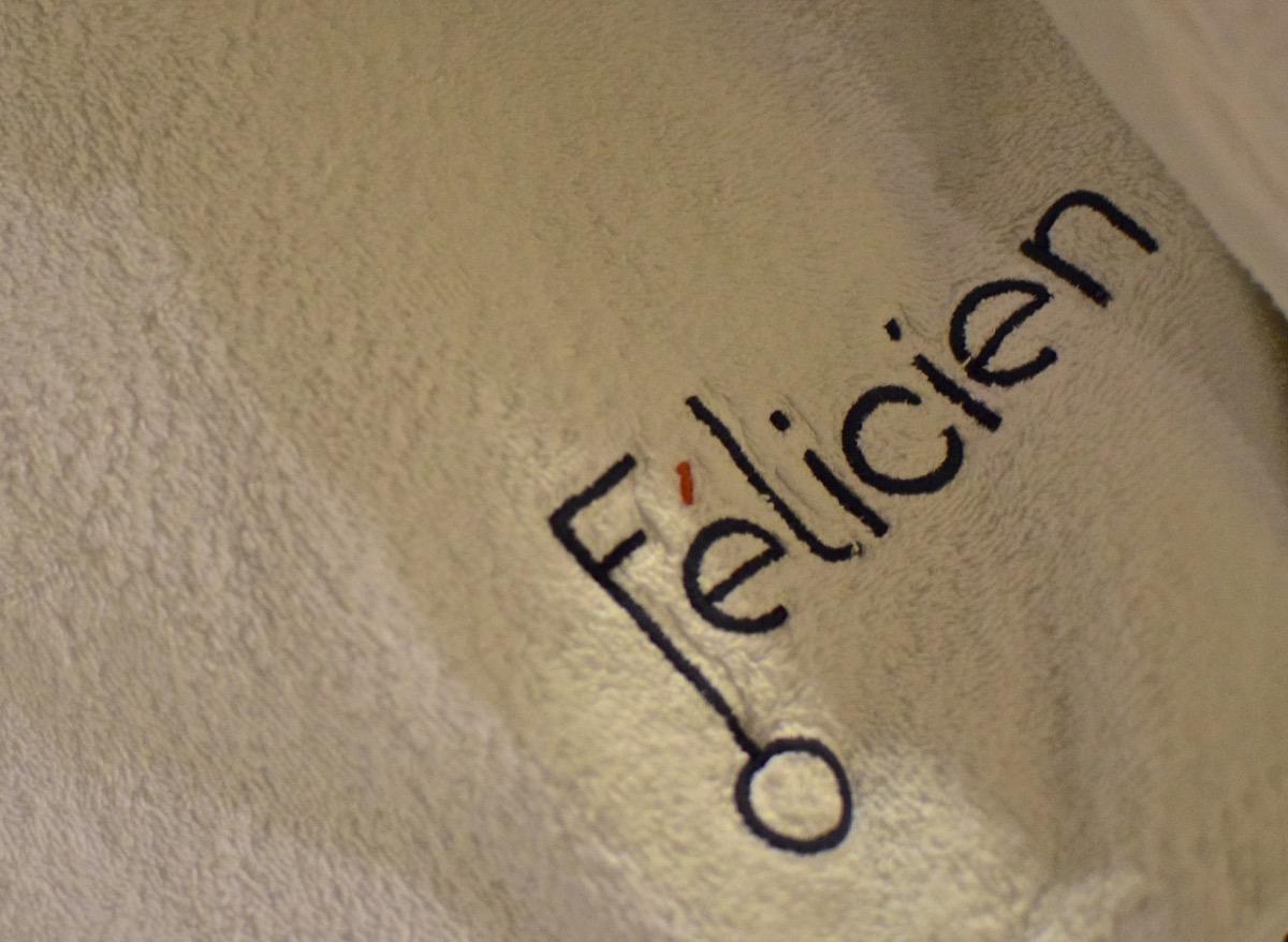 Serviettes de l'hôtel Félicien