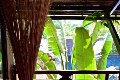 Terrasse de la chambre au Sokkhak Boutique Hotel