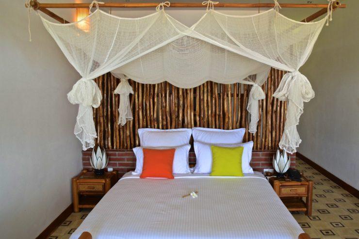 Chambre à The Island Lodge sur le delta du Mékong