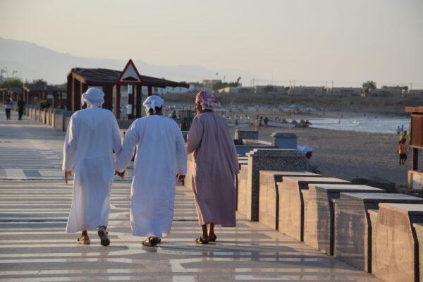 Corniche de Sour en fin de journée