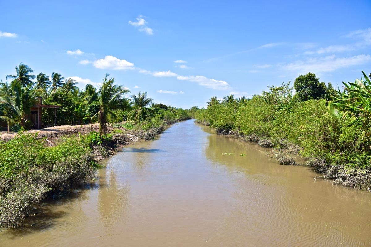 Delta du Mékong au Vietnam