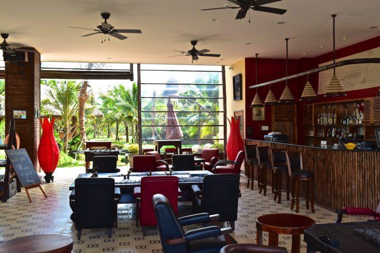 Lobby de The Island Lodge à My Tho