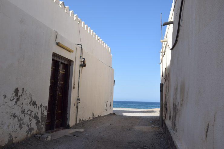 Maisons à Sour en bord de mer, Oman