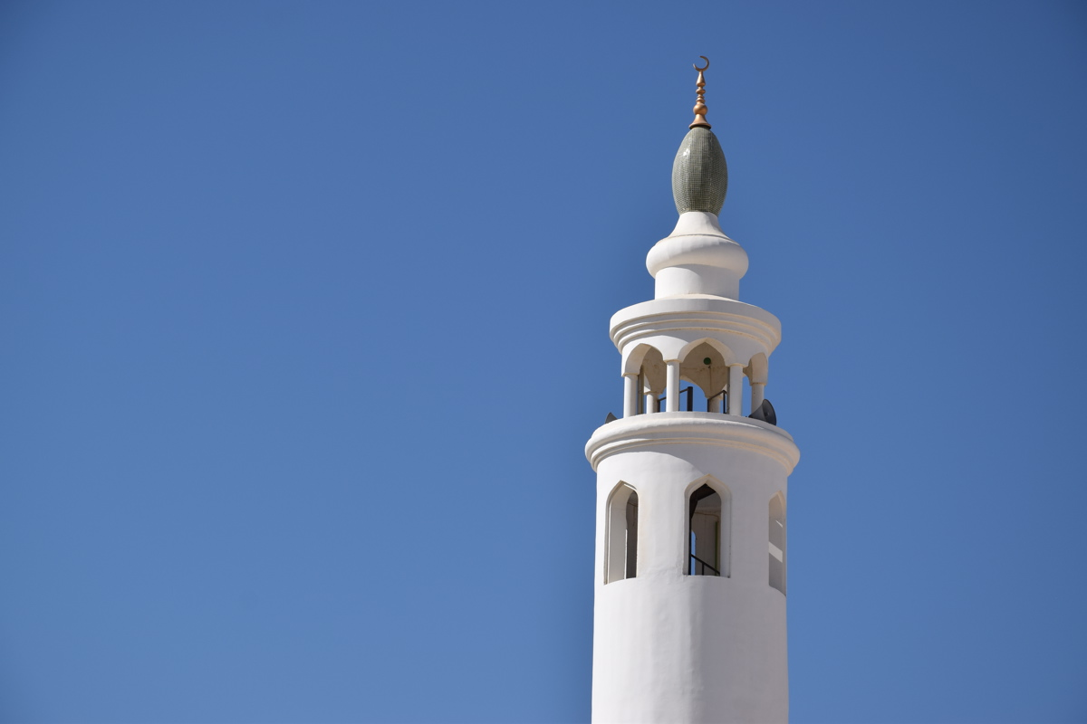 Minaret d'une mosquée de Sour, Oman