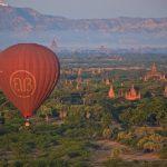 Montgolfière à Bagan