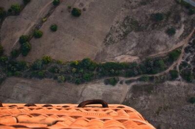 Montgolfière à Bagan en Birmanie