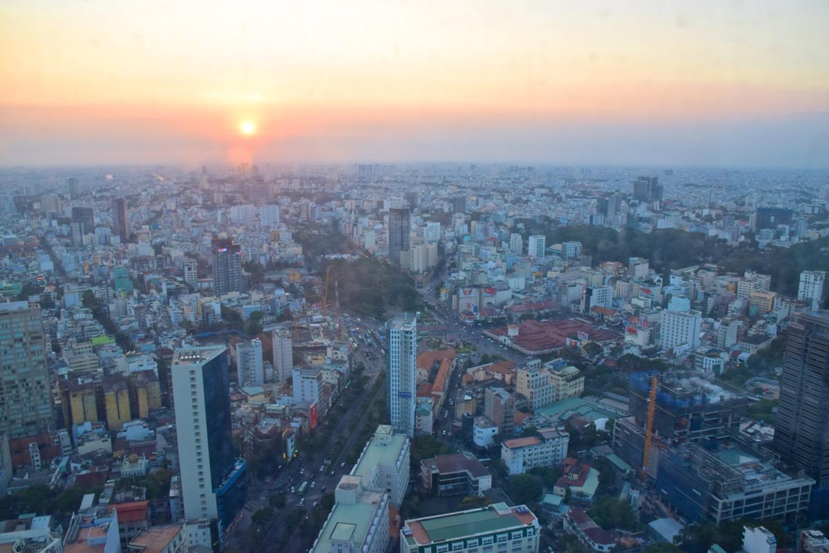 Panorama sur Ho Chi Minh