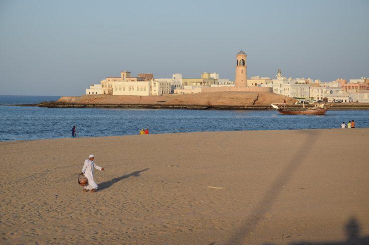 Plage de Sour, Sultanat d'Oman