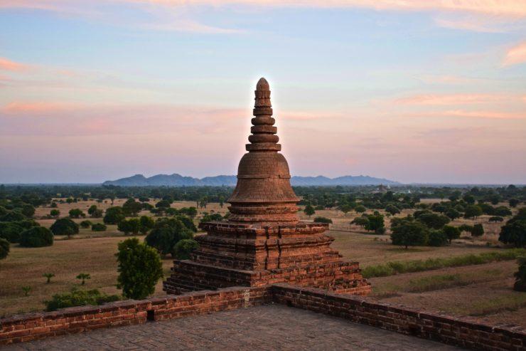 Pya Tha Da, pagode de Bagan