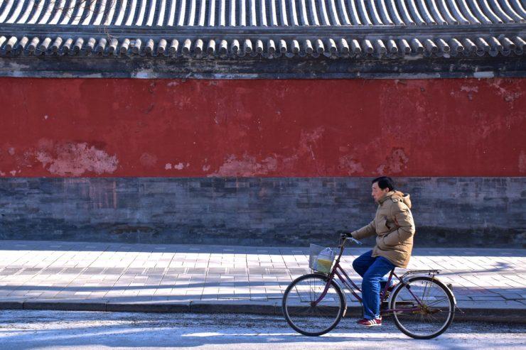 Dans une rue de Pékin
