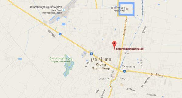Plan Sokkhak Boutique Hotel à Siem Reap