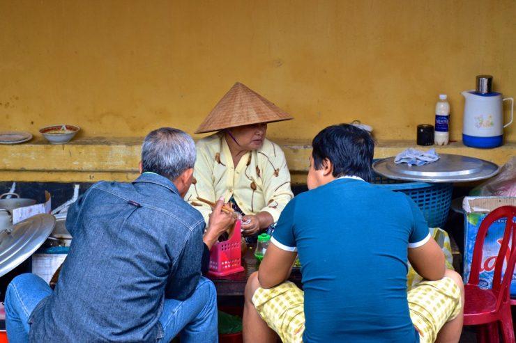 Street food - Hoi An, Vietnam