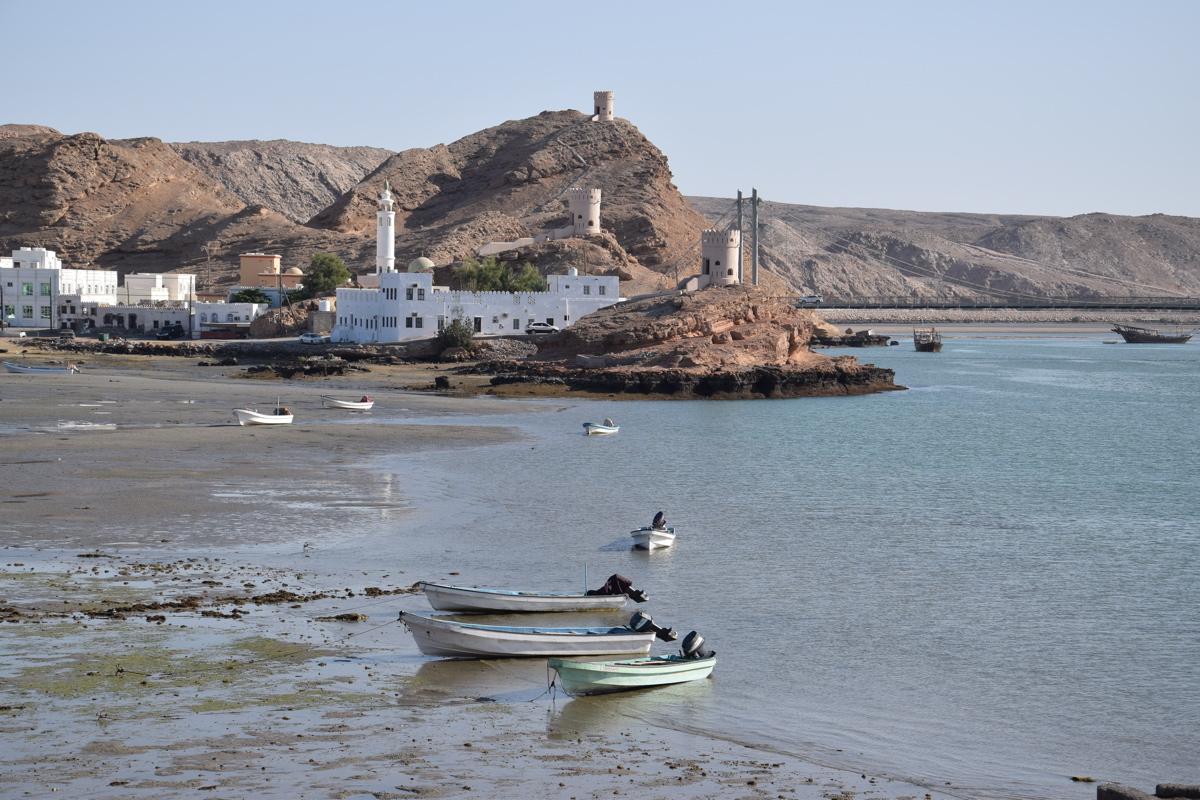 Port de Sour au sultanat d'Oman