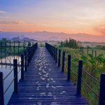 Sunrise depuis le Thahara Inle Heritage