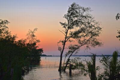 Sunset à The Island Lodge