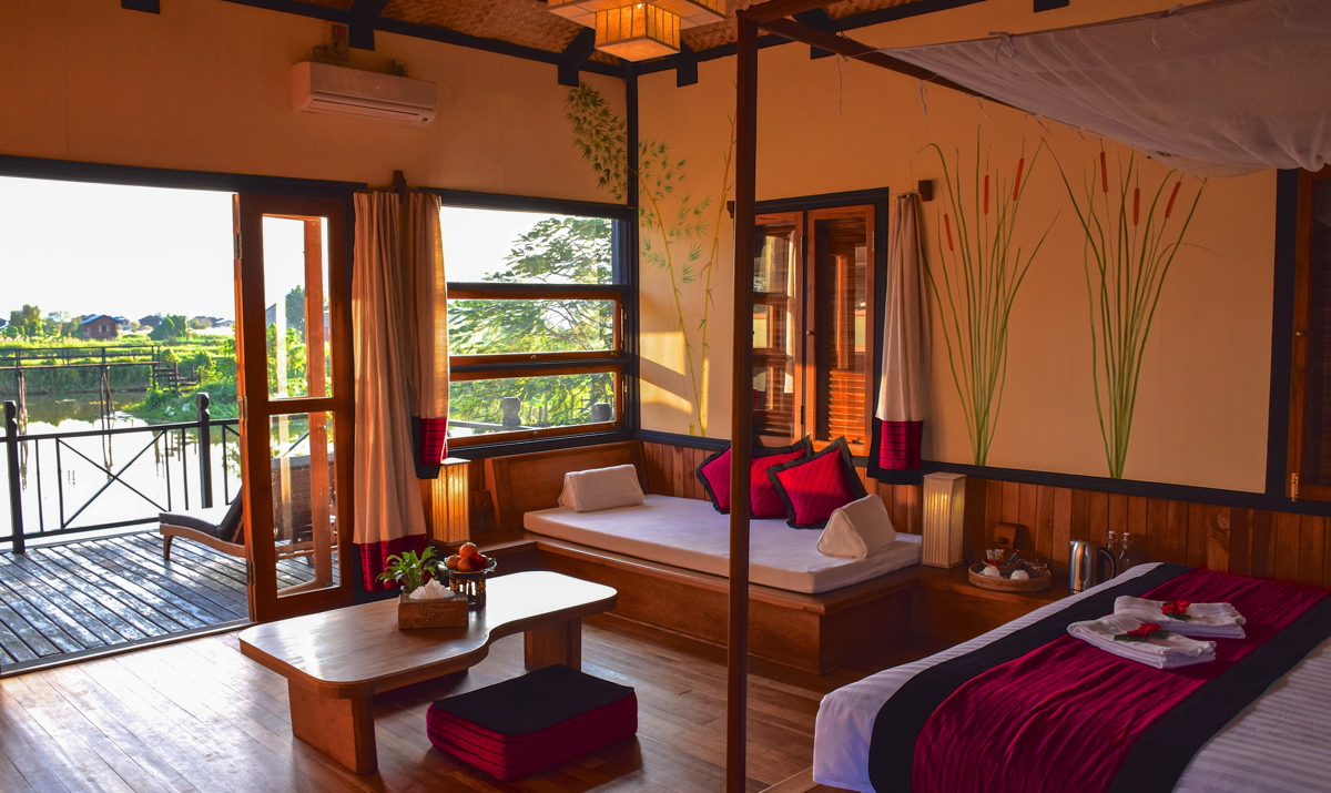 Thahara Inle Heritage, la perle du lac Inle