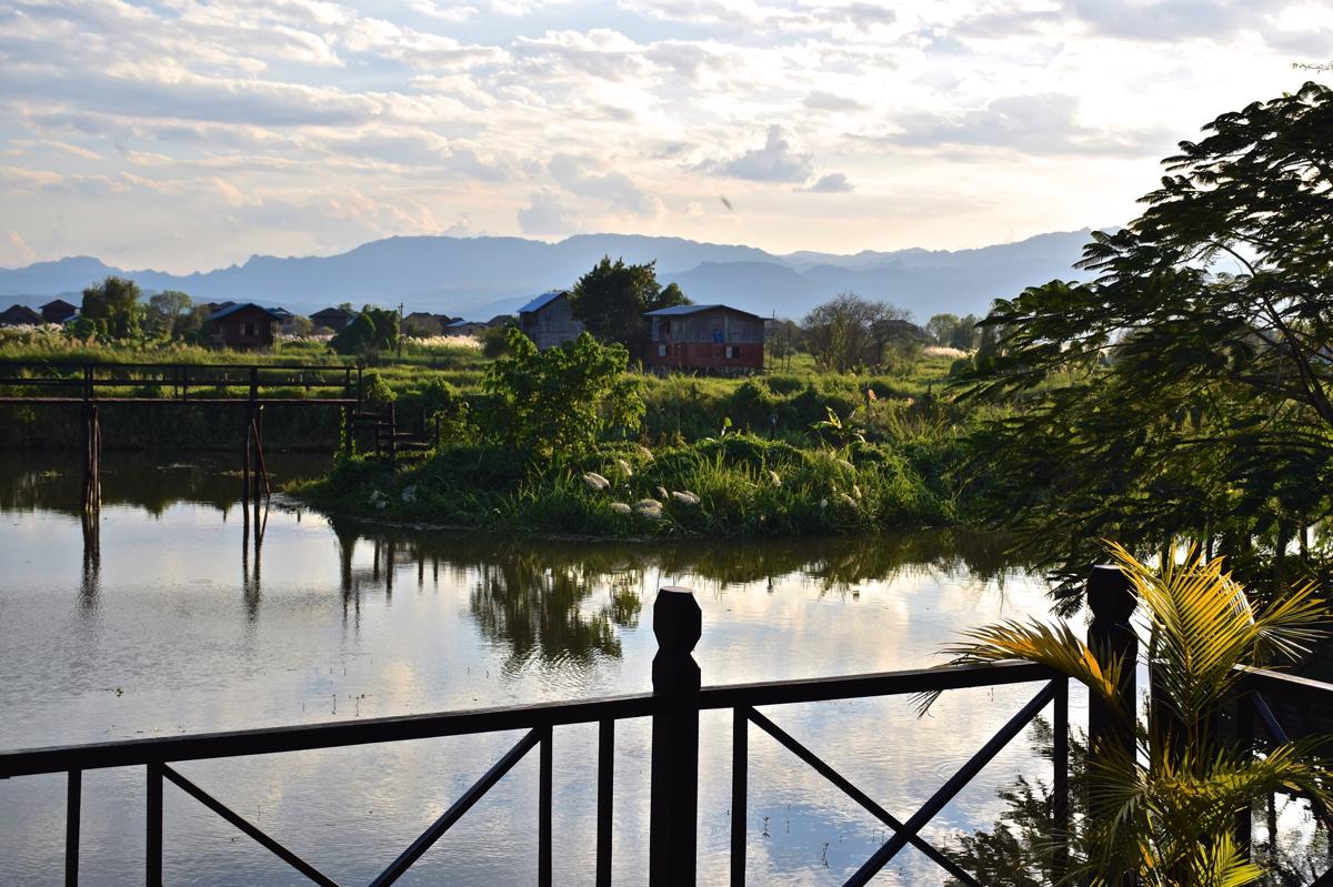 Panorama depuis le Thahara Inle Heritage