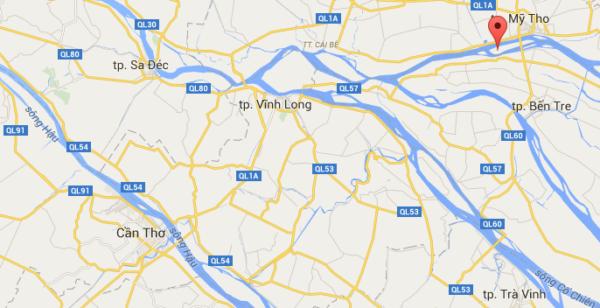 Thoi Son dans le delta du Mékong