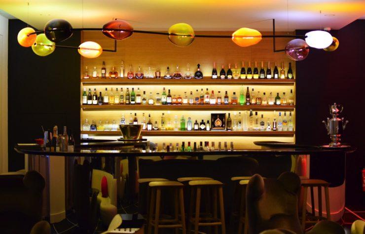 Bar de l'hôtel Marignan Elysées