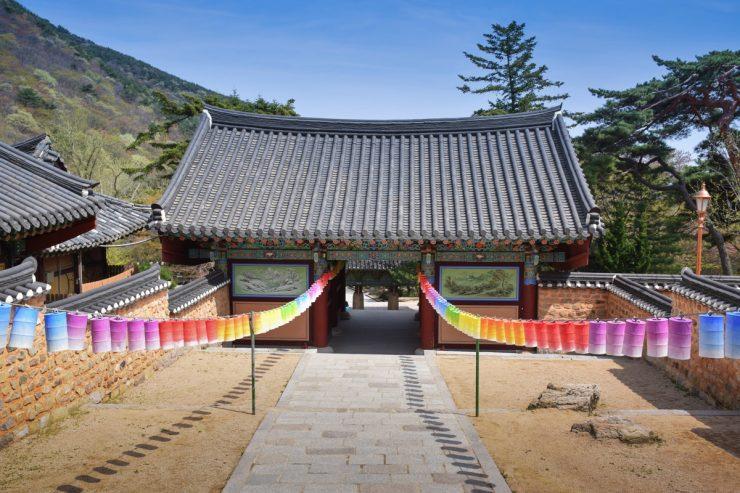 Temple Beomeosa à Busan