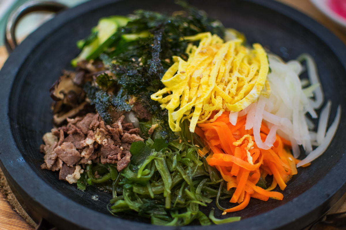 Bibimbap, plat typique de la Corée du Sud