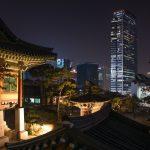 Temple Bongeunsa à Séoul
