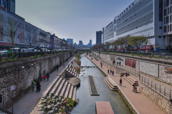 Cheonggyecheon à Séoul, la High Line coréenne