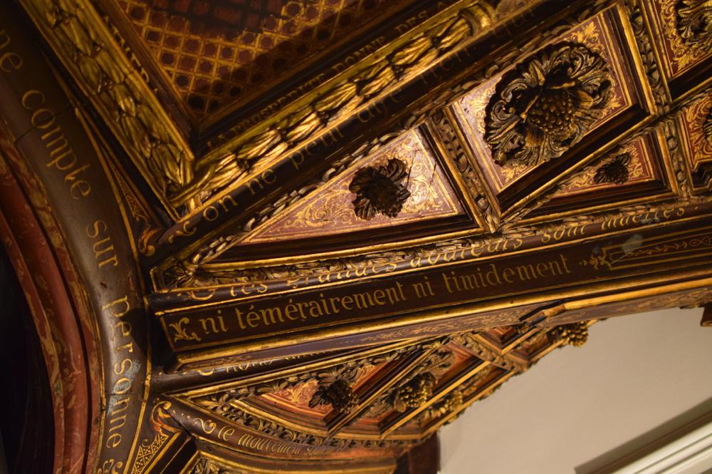 Escaliers de l'hôtel Marignan Elysées