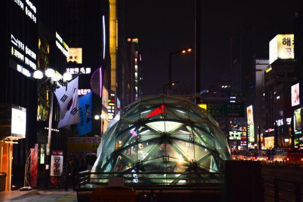 Gangnam de nuit - Séoul