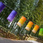 Lanternes et bambous