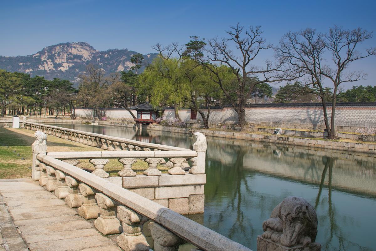 Dans un palais de Séoul