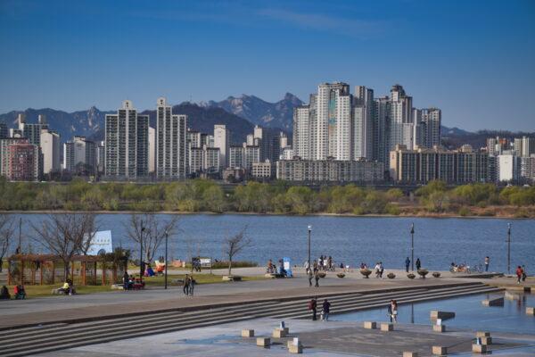 Panorama sur Séoul